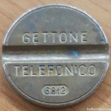 Monedas locales: MONEDA TOKEN TELÉFONO N°6812. Lote 246916630