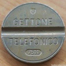 Monedas locales: MONEDA TOKEN TELÉFONO N°7511. Lote 246920465