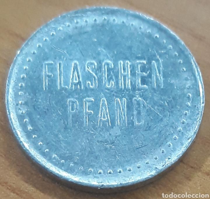 Monedas locales: Moneda token botella Flaschen Pfand - Foto 2 - 247260310