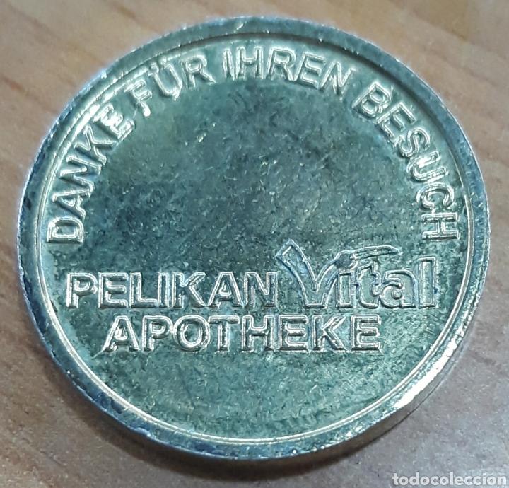 Monedas locales: Moneda token Pelikan taler Apotheke Besuch - Foto 2 - 247486980