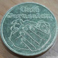 Monedas locales: MONEDA TOKEN CAFÉ JERUSALEM 1 TALER. Lote 247492025