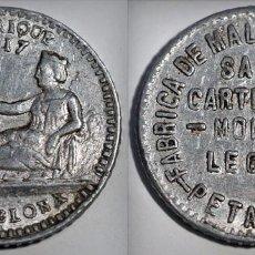 Monedas locales: LA VILLA D'UBRIQUE - PETRITXOL 17 - BARCELONA. Lote 246739500