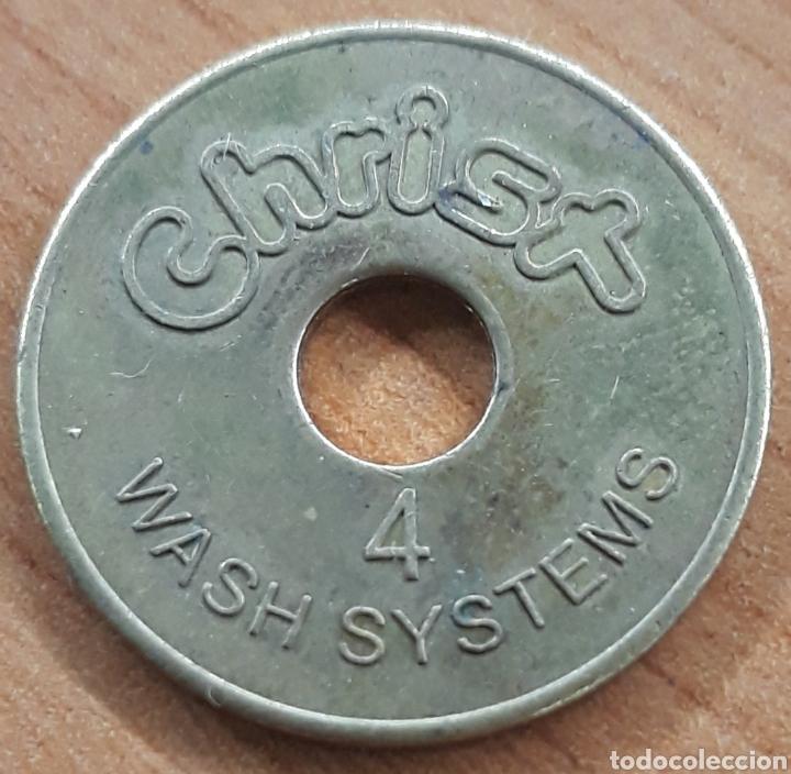 MONEDA TOKEN N°4 CHISX WASH SYSTEM (Numismática - España Modernas y Contemporáneas - Locales y Fichas Dinerarias y Comerciales)
