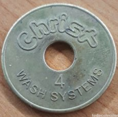 Monedas locales: MONEDA TOKEN N°4 CHISX WASH SYSTEM. Lote 248689065