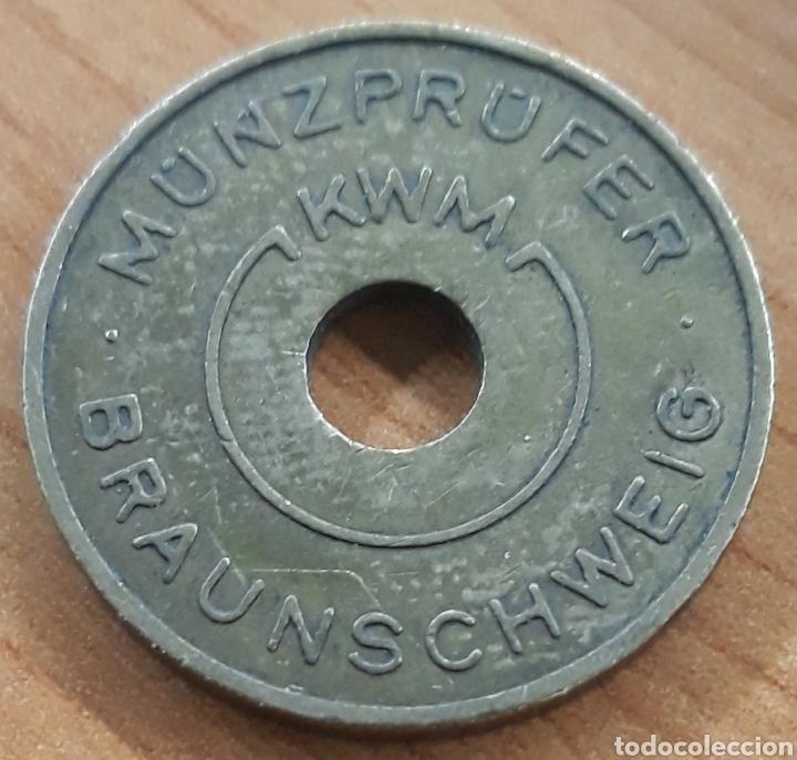 Monedas locales: Moneda token W.Müller Kg Karl Braunschweig - Foto 2 - 248690855