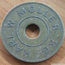 Monedas locales: MONEDA TOKEN W.MÜLLER KG KARL BRAUNSCHWEIG. Lote 248690855