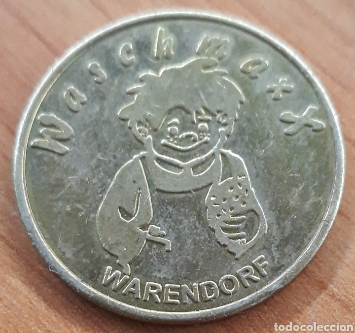 Monedas locales: Moneda token Waschmaxx Center Wasch Warendorf - Foto 2 - 248692420