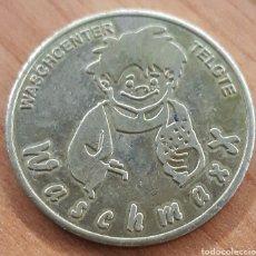Monedas locales: MONEDA TOKEN WASCHMAXX CENTER WASCH WARENDORF. Lote 248692420