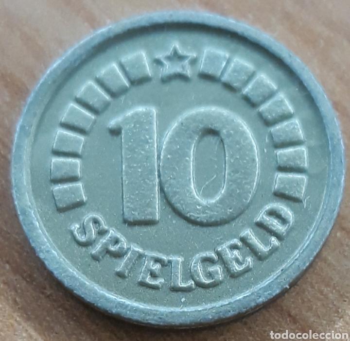 MONEDA TOKEN 10 SPIEGELD (Numismática - España Modernas y Contemporáneas - Locales y Fichas Dinerarias y Comerciales)