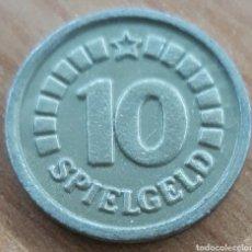 Monedas locales: MONEDA TOKEN 10 SPIEGELD. Lote 248694090