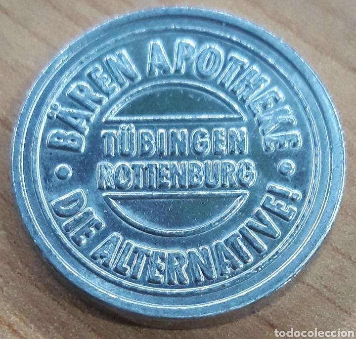 Monedas locales: Moneda token Baren Taler Apotheke Tubingen Rotenburg - Foto 2 - 248702230