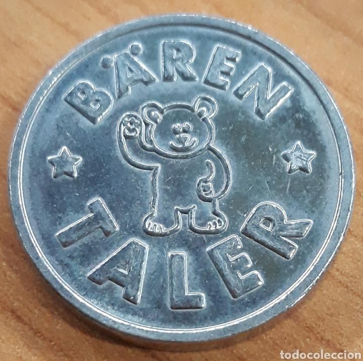MONEDA TOKEN BAREN TALER APOTHEKE TUBINGEN ROTENBURG (Numismática - España Modernas y Contemporáneas - Locales y Fichas Dinerarias y Comerciales)