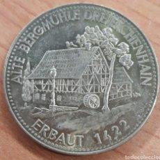 Monnaies locales: MONEDA TOKEN HISTORICHER GASIHOF BRINDING BRAUEREI ERBAUT 1422. Lote 248703820