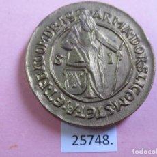 Monedas locales: FICHA MEDALLA, LUDOVICUS PRIMUS DG REX BOHEMIA, TOKEN, JETON. Lote 248821035
