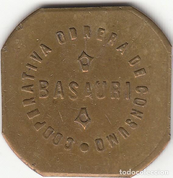 FICHA: 2 KILOS PAN BASAURI - VIZCAYA - PAIS VASCO (7) (Numismática - España Modernas y Contemporáneas - Locales y Fichas Dinerarias y Comerciales)