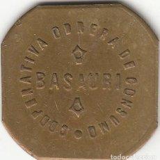 Monedas locales: FICHA: 2 KILOS PAN BASAURI - VIZCAYA - PAIS VASCO (7). Lote 251081730