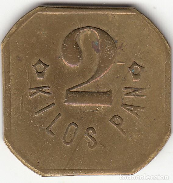 Monedas locales: FICHA: 2 KILOS PAN BASAURI - VIZCAYA - PAIS VASCO (7) - Foto 2 - 251081730