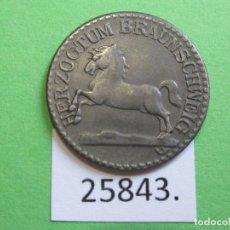 Monedas locales: FICHA BRAUNSCHWEIG ALEMANIA 5 PFENNIG 1918, MONEDA DE NECESIDAD TOKEN, JETÓN. Lote 251085225
