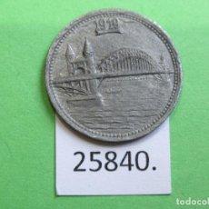 Monedas locales: FICHA BONN ALEMANIA 5 PFENNIG 1919, MONEDA DE NECESIDAD TOKEN, JETÓN. Lote 251085755