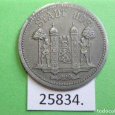 Monedas locales: FICHA HOF BAYERN ALEMANIA, 50 PFENNIG 1918, MONEDA DE NECESIDAD, TOKEN, JETÓN. Lote 251087310