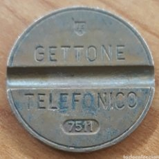 Monedas locales: MONEDA TOKEN TELÉFONO N°7511. Lote 251941870