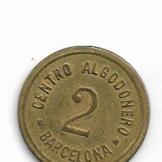 Moedas locais: CENTRO ALGODONERO BARCELONA. Lote 253914765