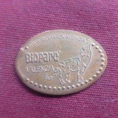 Monedas locales: FICHA DE BIOPARC. VALENCIA. Lote 254608610