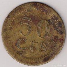 Monedas locales: FICHA 50 CTS TIPO MONEDAS DE PUEBLA DE CAZALLA. Lote 256063085