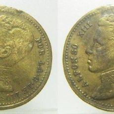 Monedas locales: ALFONSO XIII FICHA A IDENTIFICAR 23 MM. Lote 257375890