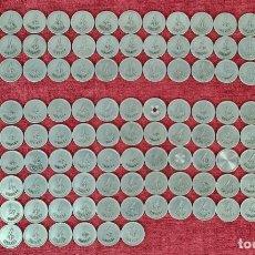 Monedas locales: COLECCION DE 144 FICHAS DE CASINO. GRAN CAFÉ NOVEDADES. 4 REALES. SIGLO XIX-XX.. Lote 257406550