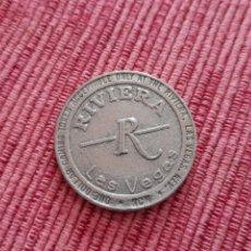 Monnaies locales: FICHA 1 DOLLAR DE CASINO RIVIERA, LAS VEGAS. Lote 260697935