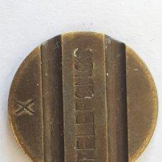 Monedas locales: FICHA TELEFONO. Lote 261805590