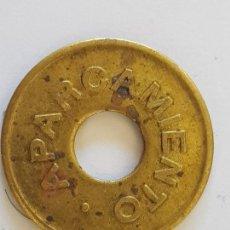Monedas locales: CONTROL SALIDA. Lote 261805635