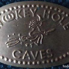 Monedas locales: TOKENS SOUVENIR X 5 - RONDA - SETENIL - C. DRACH - WOOKY HOLE. Lote 261973465