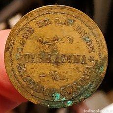Monedas locales: AL2520 - CAFÉ DE LA UNIÓN - SALVADOR CORTADA - TARRAGONA - 20 CÉNTIMOS. Lote 262468845