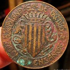 Monedas locales: AL854 - FICHA DE LA AGENCIA ENSANCHE - CATALANA GENERAL DE CRÉDITO - BARCELONA. Lote 262470260
