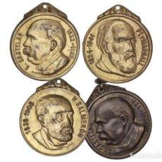 Monedas locales: FICHAS COOPERATIVAS Y PROPAGANDA, LOTE 4 JETONES, (1932-1935), MARTINI & ROSSI. Lote 262523130