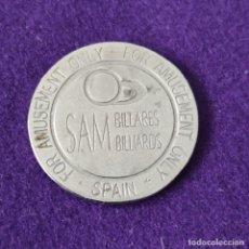 Moedas locais: FICHA MONEDA DE BILLARES SAM. VITORIA (ALAVA). CIRCULADA.. Lote 262908690