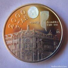 Monedas locales: 2000 PESETAS DEL AÑO 1994 EN PLATA DE 925 MM. TOTALMENTE NUEVA. PERFECTA. Lote 263019995