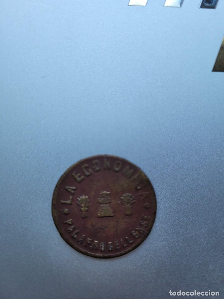 LA ECONOMICA PALAFRUGELLENSE. PALAFRUGELL. 5 CTS (Numismática - España Modernas y Contemporáneas - Locales y Fichas Dinerarias y Comerciales)