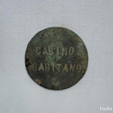 Monedas locales: FICHA DE CASINO DE CADIZ. Lote 270638258