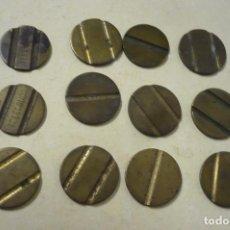 Monedas locales: LOTE 12 FICHAS TELEFONOS Y OTROS. Lote 273013373