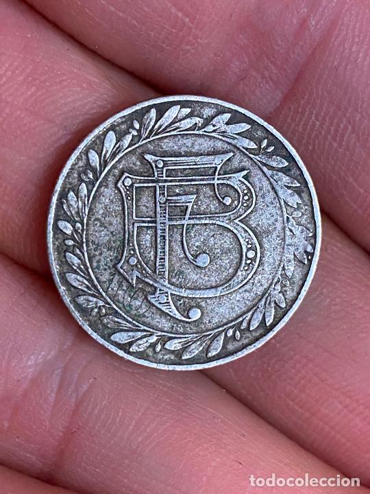 Monedas locales: una peseta de casino 1 peseta indio - Foto 2 - 276386378
