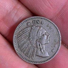 Monedas locales: UNA PESETA DE CASINO 1 PESETA INDIO. Lote 276386378