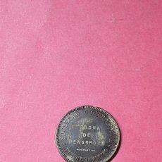 Monedas locales: 10 CÉNTIMOS SOCIEDAD COOPERATIVA PUEBLONUEVO. PERSONAL DE PEÑARROYA CÓRDOBA.. Lote 277049843