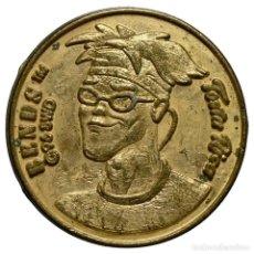 Monedas locales: FICHA/JETÓN - 25 TIBUDÓLARES - SERIE «STREET SHARK» - BENDS - GALLETAS TOSTA RICA (CUÉTARA). Lote 278530423