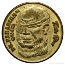 Monedas locales: FICHA/JETÓN - 25 TIBUDÓLARES - SERIE «STREET SHARK» - DR. PARADIGM - GALLETAS TOSTA RICA (CUÉTARA). Lote 278530768