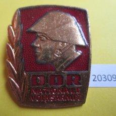Monedas locales: INSIGNIA, MEDALLA RDA,DDR, ALEMANIA COMUNISTA NVA NATIONALE VOLKSARMEE. Lote 280128593
