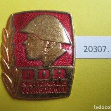 Monedas locales: INSIGNIA, MEDALLA RDA,DDR, ALEMANIA COMUNISTA NVA NATIONALE VOLKSARMEE. Lote 280128598