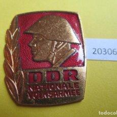 Monedas locales: INSIGNIA, MEDALLA RDA,DDR, ALEMANIA COMUNISTA NVA NATIONALE VOLKSARMEE. Lote 280128603